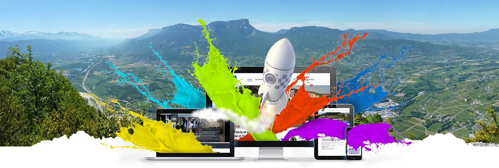 Site internet création Chambéry